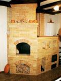 Кирпичная печь