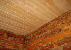 Правила утепления потолка в русской бане