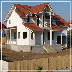 Загородный дом на участке